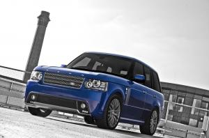 2011 Land Rover Range Rover Vogue Bali Blue RS450 by Project Kahn