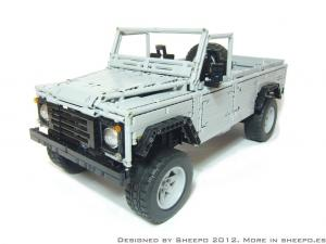 Land Rover Defender 110 by Lego 2012 года