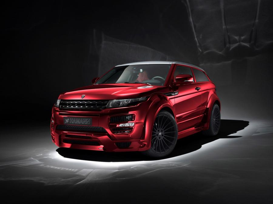 Land Rover Range Rover Evoque Coupe by Hamann