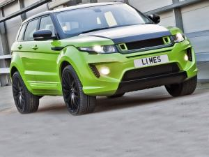 Land Rover Range Rover Evoque RS250 Limes Green by Project Kahn 2012 года