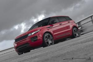 Land Rover Range Rover Evoque Red by Project Kahn 2012 года