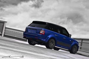 2012 Land Rover Range Rover Imperial Blue Cosworth by Project Kahn