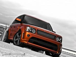 2012 Land Rover Range Rover Sport Vesuvius Orange by Project Kahn