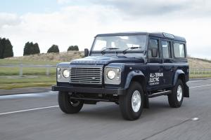 Land Rover Defender 110 Electric Research Vehicle 2013 года