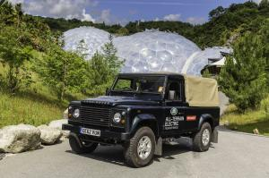 Land Rover Electric Defender at the Eden Project 2013 года