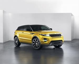 2013 Land Rover Range Rover Evoque Sicilian Yellow Limited Edition