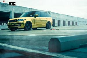 Land Rover Range Rover Gold by MC Customs 2014 года