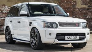 Land Rover Range Rover Sport Fuji RS300 White Project by Project Kahn 2014 года