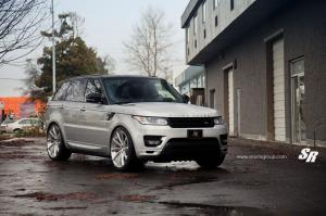 2014 Land Rover Range Rover Sport by SR Auto Group on PUR Wheels