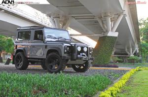 Land Rover Defender 110 by Import Wheels on ADV.1 Wheels (ADV6TruckSpec) 2015 года