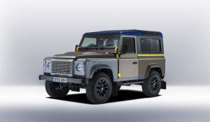 2015 Land Rover Defender 90 Special Edition by Paul Smith