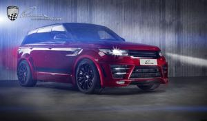 2015 Land Rover Range Rover Sport CLR RS Firenze Red by Lumma Design