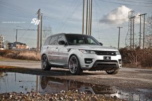 Land Rover Range Rover Sport by SR Auto Group on PUR Wheels 2015 года