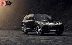 2015 Land Rover Range Rover Supercharged Piano Black M50Q Wheels by Klassen