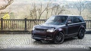 2016 Land Rover Range Rover RS Pace Car Black Kirsch Over Madeira Red by Project Kahn