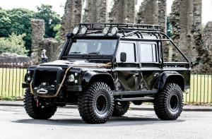 Land Rover Defender 110 James Bond Villain 2017 года