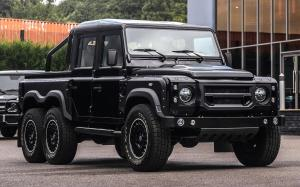 Land Rover Defender Flying Huntsman 6x6 Double Cab Pick Up by Project Kahn 2017 года