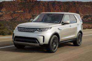 Land Rover Discovery HSE 2017 года