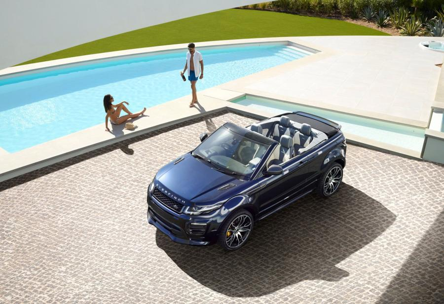 Land Rover Range Rover Evoque Convertible by Overfinch
