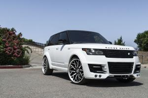 2017 Land Rover Range Rover HSE on Forgiato Wheels (Blocco-ECL)