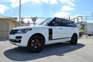 2017 Land Rover Range Rover HSE on Forgiato Wheels (F2.19-ECL)