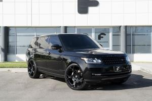 2017 Land Rover Range Rover HSE on Forgiato Wheels (Rueda-M)