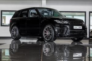 2017 Land Rover Range Rover Sport Black by Urban Automotive on Vossen Wheels (UV-2)