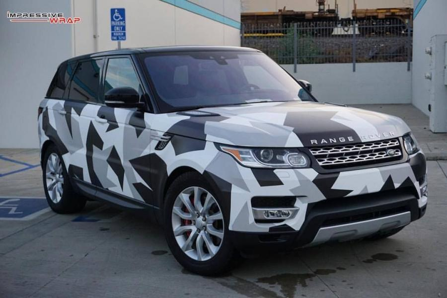 Land Rover Range Rover Sport by Impressive Wrap