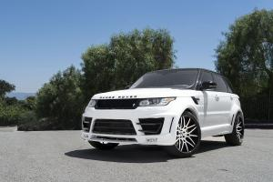 2017 Land Rover Range Rover Sport on Forgiato Wheels (Maglia-ECL)