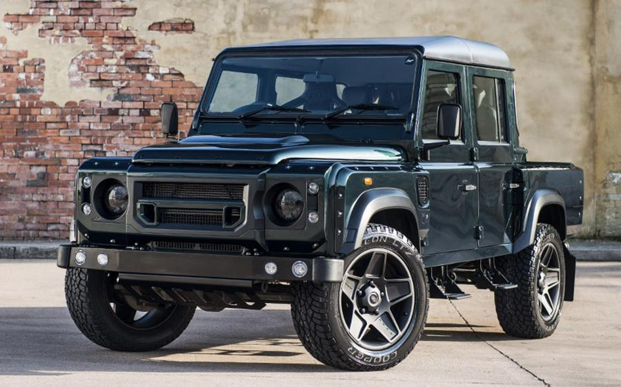 Land Rover Defender Aintree Green by Project Kahn