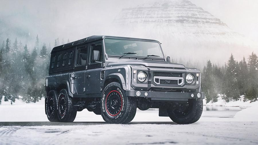 Land Rover Defender Civil Carrier by Project Kahn