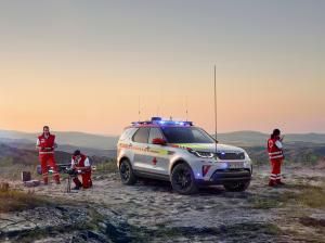 2018 Land Rover Discovery Red Cross Emergency Response Vehicle