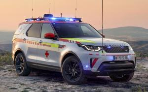 Land Rover Discovery Red Cross Emergency Response Vehicle 2018 года