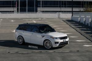 2018 Land Rover Range Rover Autobiography on Strasse Wheels (SV1 Deep Concave FS)