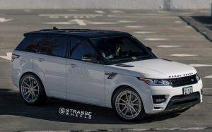 Land Rover Range Rover Autobiography on Strasse Wheels (SV1 Deep Concave FS) '2018