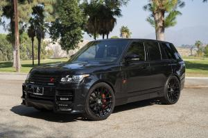 2018 Land Rover Range Rover HSE on Forgiato Wheels (FLOW 001)