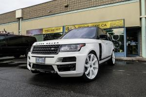 Land Rover Range Rover HSE on Forgiato Wheels (Fondare-M) 2018 года