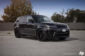 2018 Land Rover Range Rover Sport SVR by SR Auto Group on PUR Wheels (PUR FL25)
