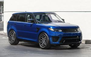 Land Rover Range Rover Sport Blue on Vossen Wheels (HF-2)