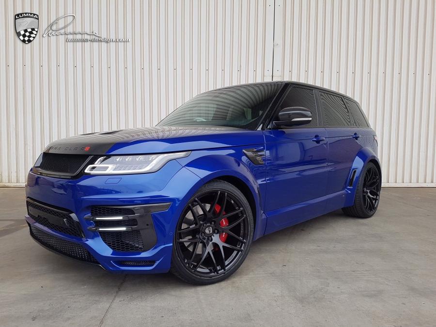 Land Rover Range Rover <b>Sport</b> SVR CLR RS by Lumma <b>Design</b> ...