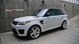 Land Rover Range Rover Sport SVR by TunerWorks Canada on ADV.1 Wheels (ADV5S M.V2 CS) 2018 года