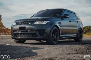 2018 Land Rover Range Rover Sport SVR on PUR Wheels (LX32)