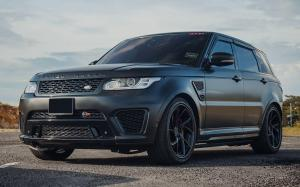 Land Rover Range Rover Sport SVR on PUR Wheels (LX32) 2018 года