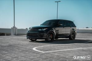 2018 Land Rover Range Rover Sport by TAG Motorsports on Vossen Wheels (UV-1)