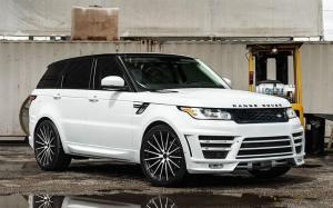Land Rover Range Rover Sport on Avantgarde Wheels (AG M615) 2018 года