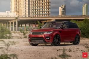 2018 Land Rover Range Rover Sport on Vossen Wheels (HF-1)