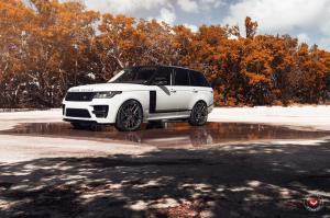 2018 Land Rover Range Rover on Vossen Wheels (M-X3)