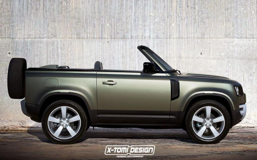 Land Rover Defender 90 Convertible by X-Tomi Design '2019