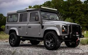 Land Rover Defender Project Ghost by East Coast Defender 2019 года