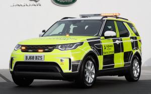 Land Rover Discovery Highways England 2019 года (UK)